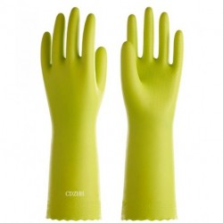 CDZHH PVC Household Cleaning Gloves, Reusable Dishwashing Gloves