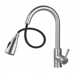Anihoma  Kitchen Faucet with Pull Down Sprayer, High Arc Single Handle Sink Faucet