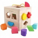 samgico  Building blocks Shape Sorter Toy Building Blocks Geometry Learning Matching Sorting Gifts Didactic Classic Toys for Toddlers Baby Kids 2 3 Years Old